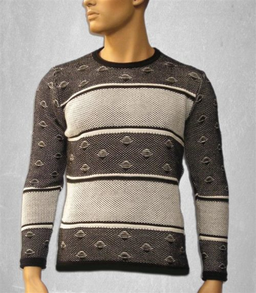 Man jersey long sleeved high-necked gray and black colors[GM202]